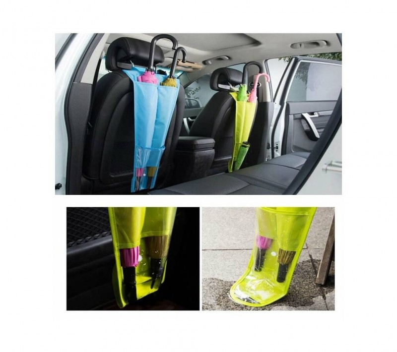 Car Seat Back Umbrella Storage Bag Holder