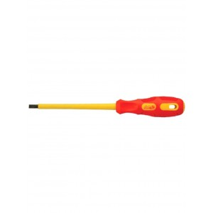 (-) Minus Head 6 Inch X 1/4 Inch Insulated Screwdriver Hans Brand