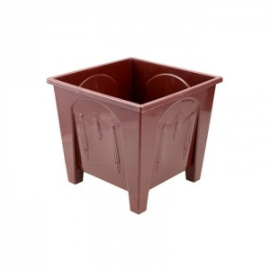 Square Flower Tub 20L Sandal Wood