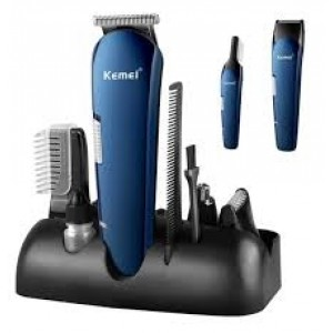 KM-550 RECHARGEABLE 8 IN 1 HAIR TRIMMER