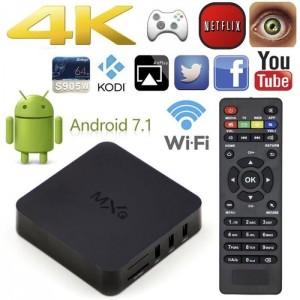 mxq pro mini android tv box 1GB RAM 8 GB ROM