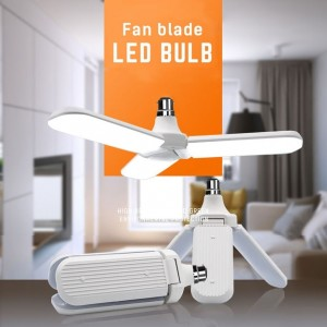 Blade Fan with Led Bulb