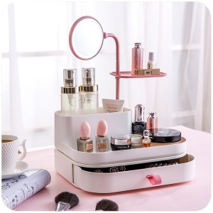Cosmetic Organizer and Mirror