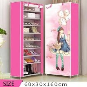 9 Layer Dustproof Cloth Shoe Cabinet