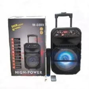 Trolley speaker portable speakers 8 inch