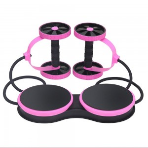 Abdominal Exerciser Double Wheel Weight Los