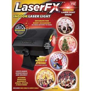 Laser FX Indoor Laser Light with Speaker