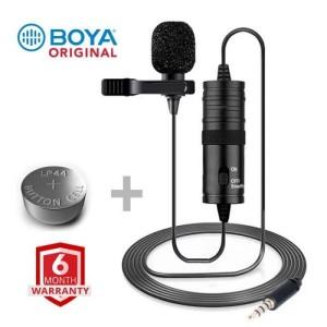 Original BOYA M1 Microphone For Smartphone, DSLR, Laptop (6 Months Warranty)