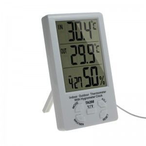Indoor Outdoor room temperature meter