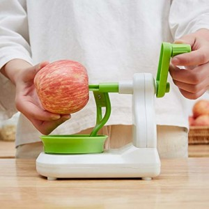 Easy Apple Peeler with Cuter