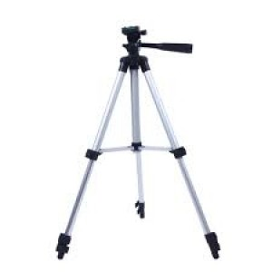 Tripod 3110 Camera Stand with Phone Holder Clip