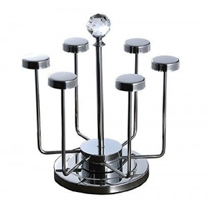 Stainless Steel 6 Mug Cups Rack