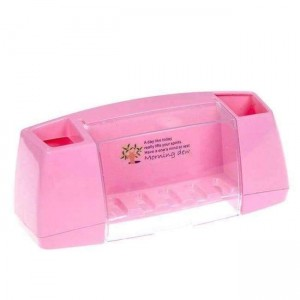 Multifunctional Toothbrush Holder Storage Box