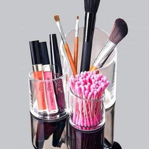 Cosmetics N Brush Holder