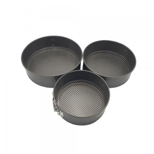 3 Pieces Non Sticky Cake Pan Set