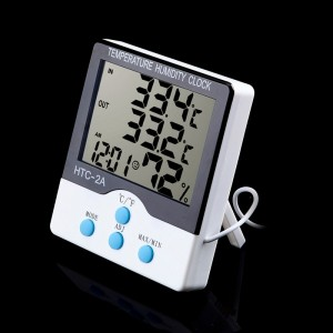 Digital LCD Display Temperature + Humidity