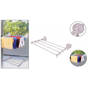Protable Telescopic Clothes Drying Rack