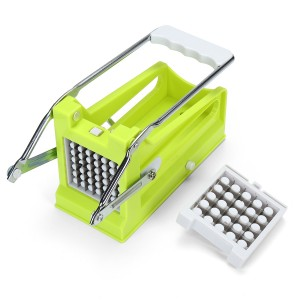 Stainless Potato Chipper French Fries Slicer