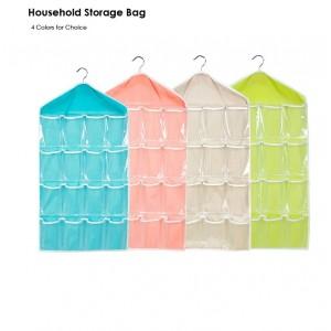 Wall Mounted 16 Grid Storage Bag
