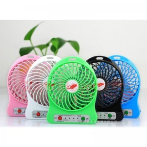 Outdoor Mini Portable USB Rechargeable Fan
