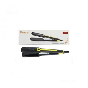 Kemei 2 in 1 Ceramic Coating Hair Straightener - KM2116