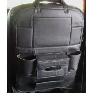 PU Leather Car Seat Organizer