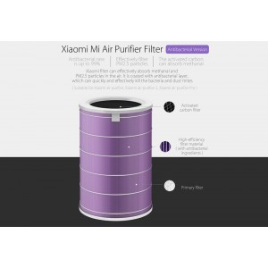Air Purifier Filter Anti-bacterial (Purpal color)