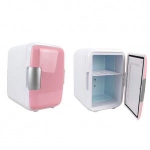 Portable Travel Mini Refrigerator for Car and Office - 4L
