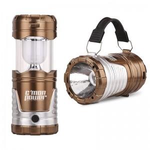 Solar Flashlight, Lamp & Power Bank