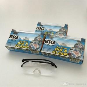 Big Vision plastic glasses 160 degrees Magnifying Glasses