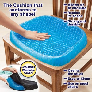 Egg Sitter Seat Cushion with Non Slip Cover