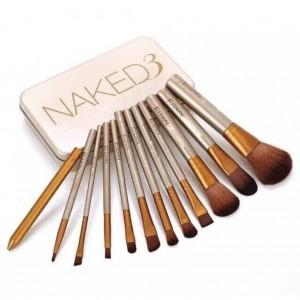 Naked3 Makeup Brush 12pcs Set