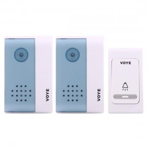 Home Doorbell Voye V004b2 Wireless Smart Music Dual Receiver