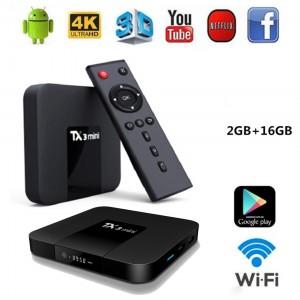 TX3 Mini TV BOX OS Android 7.1 RAM 2 ROM 16