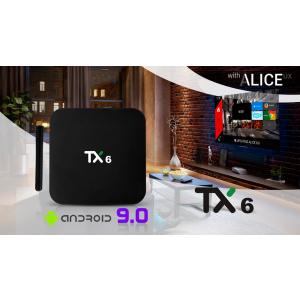 TX6 Android TV BOX 9.0