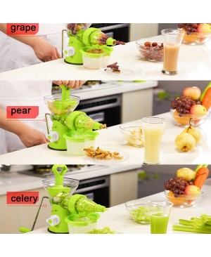 Manual Fruit & Vegetable Juicer