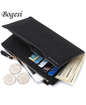 Bogesi Men's Artificial Leather Long  Wallet