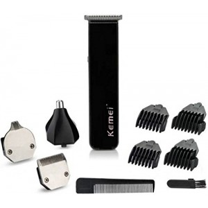 Kemei 3580 Trimmer and Shaver- Black