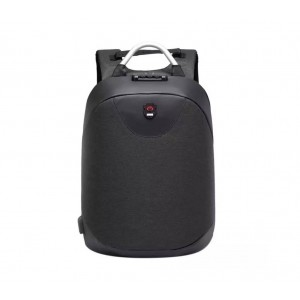 "16"" Anti thief With USB Port And Password Lock Backpack- Black"