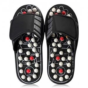Spring Action Massage Slippers Leg Foot Massager